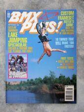 BMX Plus Magazine Sep. 1997 features bikes & product info. Custom Frameset guide