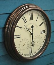 Wall Clock Humidity Gauge And Thermometer Bickerton Outside In Designs