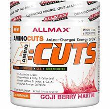 ALLMAX NUTRITION AMINOCUTS ACUTS AMINO ACIDS TAURINE CAFFEINE GOJIBERRY FLAVOUR