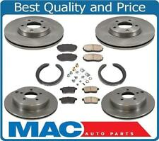 For 07-10 Ford Edge Front Wheel Drive Only Brake Disc Rotors Pads Park Shoes 8pc