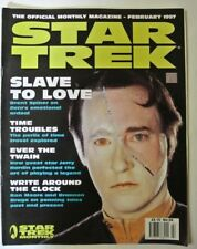 Star Trek The Official Monthly magazine. February 1997. No: 24. Slave to Love.