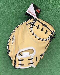 """2021 Wilson A2000 DPCM 33"""" Baseball Catchers Mitt - WBW10011533"""