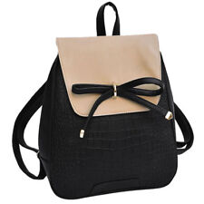 Coofit Girls Bowknot Cute Bag PU Leather Backpack Mini Backpack Purse for Women