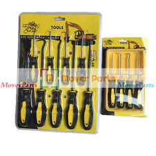 Hook & Pick Set With Rubber Handles O Ring Seal Gasket Scrapers Tools