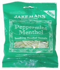 Jakemans Peppermint Menthol 100g x 10 FULL OUTER Free Postage Only £13.99