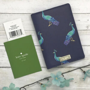 NEW Kate Spade Shore Street Peacock Party Passport Holder