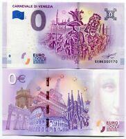 Carnevale Di Venezia Venice Carnival Italy 0 Euro Souvenir Note 2019 Series 1