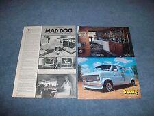 "1978 Ford E-150 Custom Van Vintage Article ""Mad Dog"" E150 Econoline"