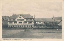 AK, heiligenbronn O. - A. Oberndorf, sourd-muet Institut, 1917, (G) 1134