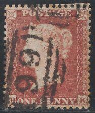 1855 Penny Red Spec C2 PIASTRA 198 (HK) PERF 14 SC bene usato buone perforazioni