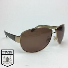 POLAROID eyeglass GOLD AVIATOR SUNGLASSES frame WRAP AROUND Authentic. MOD:4719