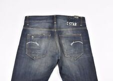 G-Star Morris Low Straight Men Jeans Size 33/32, Genuine