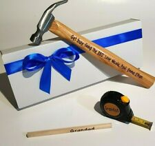 Father's TOOLS SET Personal Hammer Christmas gift Personalised Grandad Birthday