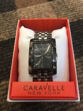 NEW Lot Of 5 Brand New Caravelle New York Men's Stainless Steel Watch 43A118