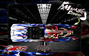 TRAXXAS SPARTAN AND M41 BOAT WRAP DECAL GRAPHICS KIT 'RIPPER' FITS 5711X / 5764