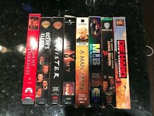 Vhs Video Cassette Tape movie bundle Lot of 8 Actionand Other die hard twister