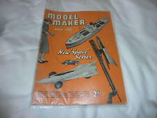 MODEL MAKER MAGAZINE April 1955