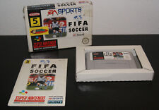 Nintendo Super Snes FIFA International Soccer PAL NOE CIB Complete