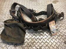 Vintage Lineman Belt Climbing Gear Leather Tree Arborist Klein