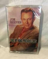 """Vintage Jim Reeves Cassette Tape SEALED 12 Songs """"Take My Hand, Precious Lord"""""""