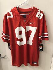 Nwt Ohio State Joey Bosa #97 Authentic Nike Football Red Jersey Size Large Osu