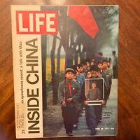 LIFE Magazine~April 30 1971~Inside Communist  China~Being a Catholic~ 70's Ads