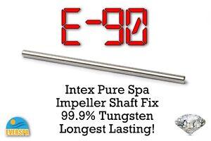 Tungsten LONGEST LASTING! Intex Pure Spa Hot Tub Impeller Pump Fix E90 errors
