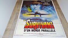 LE SURVIVANT D'UN MONDE PARALLELE   !  robert powell  affiche cinema  1980