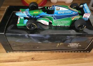 Michael Schumacher Minichamps Benetton Ford B194 Hockenheim July 1994