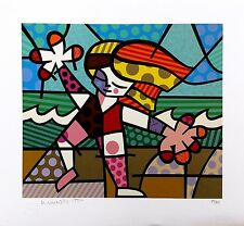 "ROMERO BRITTO ""GOLDEN BEACHES"" 1994 