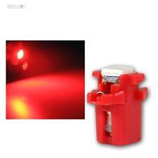 10x SMD 3Chip LED B8.3D BAX10s T5 rosso Iluminazione cruscotto Abitacolo