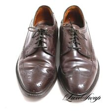 RARE Vintage Keith Highlanders #8 Shell Cordovan V-Cleat Longwing LWB Shoes 8.5