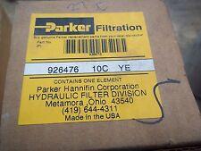 Genuine Parker Hydralic Filter Part Number 926476 10C Ye