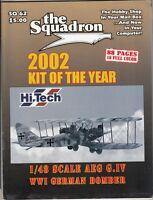 "[63964] ""THE SQUADRON"" MODELER CATALOG MAGAZINE 2002 KIT OF THE YEAR SQ 62"