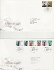 GB Stamps First Day Cover Xmas angels, madonna, music, flute, lute SHS Text 2007