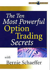 THE TEN MOST POWERFUL OPTIONS TRADING SECRETS = BERNIE SCHAEFFER = DVD