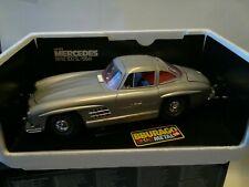 Mercedes Benz 300 SL 1954 1/18 Scale Beautiful Condition Made Italy BBurago...