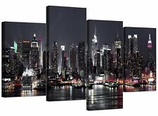 Canvas Pictures of New York Skyline for your Living Room - NYC Cityscape Prints