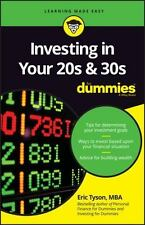 Investing in Your 20s & 30s for Dummies (Paperback or Softback)