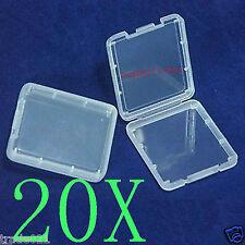 20X Plastic Card Case Holder box for 64GB 32GB 16GB 8GB CF Compact Flash Memory