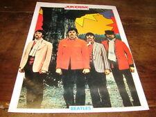 THE BEATLES - Mini poster couleurs JUKEBOX !!!!!!!!!!!!!
