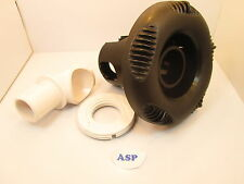 Nordic Spa Hot Tub Diverter Black Jet Face & Hydro Air Butterfly Valve Video