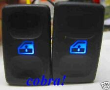 VW Polo 6N Seat Golf 2 Fensterheber Schalter Fensterheberschalter Blau Rot LED