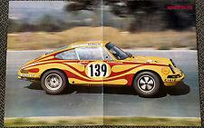 Porsche 911 s/gerard larrousse-póster 1970