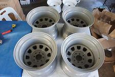 """JDM Custom Steelies 15"""" rims wheels steel ssr watanabe MX5 Miata roadster e30"""