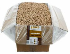 Mealworm premium suet fat pellets for wild garden bird feeding 12.75kg