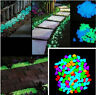100pcs Glow In The Dark Stones Pebbles Rock FISH TANK AQUARIUM Garden Walkway