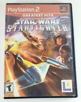 Star Wars: Jedi Starfighter (Sony PlayStation 2, 2002) complete