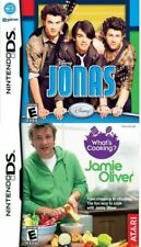 JONAS Disney & JAMIE OLIVER Whats Cooking Nintendo DS NEW SEALED LOT Video Games