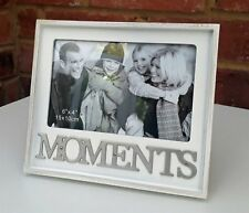 """Moments Photo Frame Shabby Chic Fits 4x6"""" Picture 18cm wide New"""